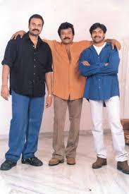 Pawan Kalyan with his brothers