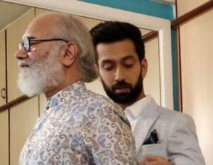 Nakuul Mehta with his father