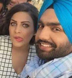 Himanshi Khurana with her ex-boyfriend Ammy