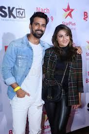 Urvashi Dholakia with her ex-boyfriend Anuj