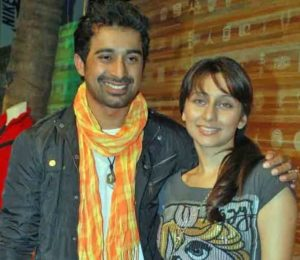 Rannvijay Singh with his ex-girlfriend Anusha