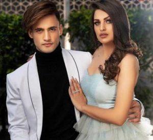 Himanshi Khurana with her boyfriend Asim