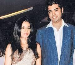 Mahima Chaudhry with her ex-husband Bobby