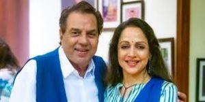 Hema Malini with her husband Dharmendra