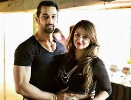 Karan Vohra with his wife