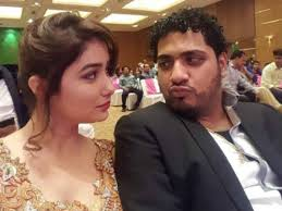Leena Jumani with her boyfriend