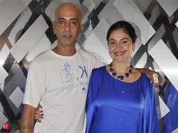 Pooja Bhatt with her ex-husband Munish