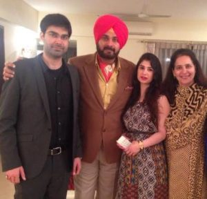 Rabia Sidhu with her family