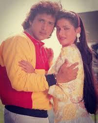 Govinda with his ex-girlfriend Neelam