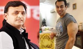 Akhilesh Yadav & Prateek Yadav
