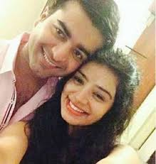 Sukirti Kandpal with her ex-boyfriend Rishabh