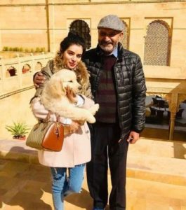 Sukirti Kandpal with her father