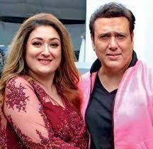 Govinda with his wife Sunita