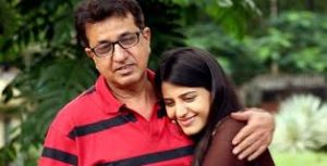 Simran Pareenja with her father