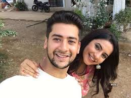 Meera Deosthale with her boyfriend