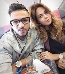 Raftaar with his wife