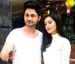 Amrita Rao with her husband