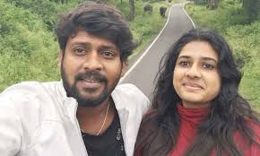 Rio Raj with his wife