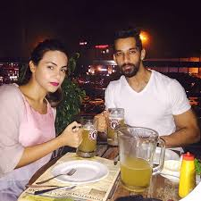 Karan Vohra with his sister