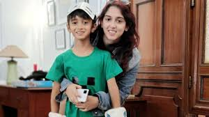 Ira Khan with her half-brother