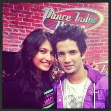 Mudassar Khan with his girlfriend