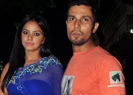 Neetu Chandra with her ex-boyfriend