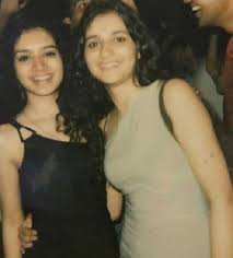 Sukirti Kandpal with her sister