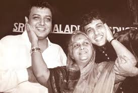 Govinda with his mother & brother