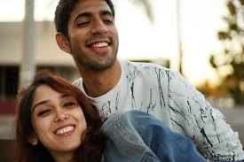 Ira Khan with her boyfriend