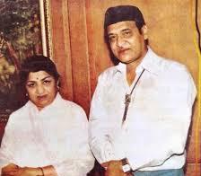 Lata Mangeshkar with her ex-boyfriend