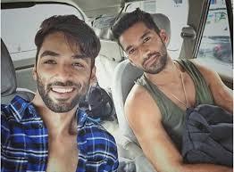 Karan Vohra with his brother