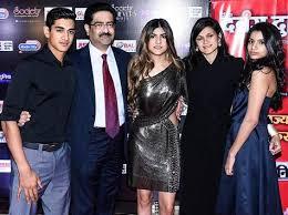 Ananya Birla with her family