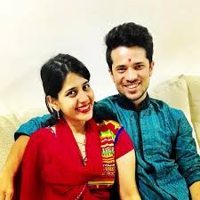 Simran Pareenja with her brother
