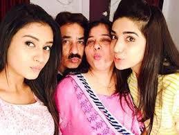 Hiba Nawab with her family