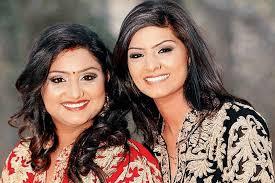 Jyoti Nooran with her sister