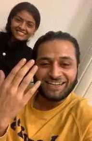 Jyoti Nooran with her husband