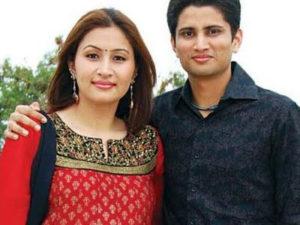 Jwala Gutta with her ex-husband Chetan