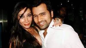 Rohit Sharma with his ex-girlfriend Sofia