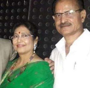 Neha Swami's parents