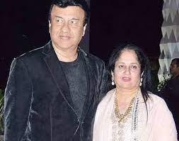 Anu Malik with his wife