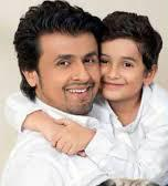 Sonu Nigam with his son