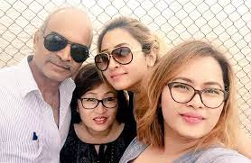 Jwala Gutta with her family