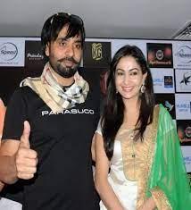 Babbu Maan with his wife