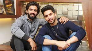 Amaal Mallik with his brother