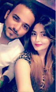 Shirin Kanchwala with her brother Abdeali