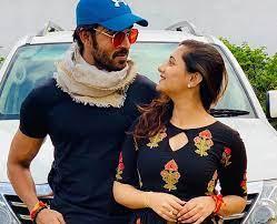 Rashmi Desai with her ex-boyfriend Arhaan