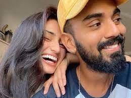 KL Rahul with his girlfriend Athiya