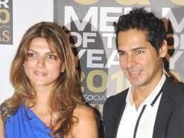 Nandita Mahtani with her ex-boyfriend Dino