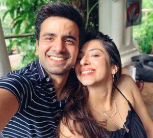 Ayush Mehra with his Girlfriend