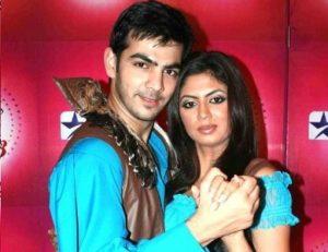 Kavita Kaushik with her ex-boyfriend Karan